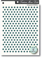 Трафарет Memory box Stencil - Texture Mini Dots, 88533
