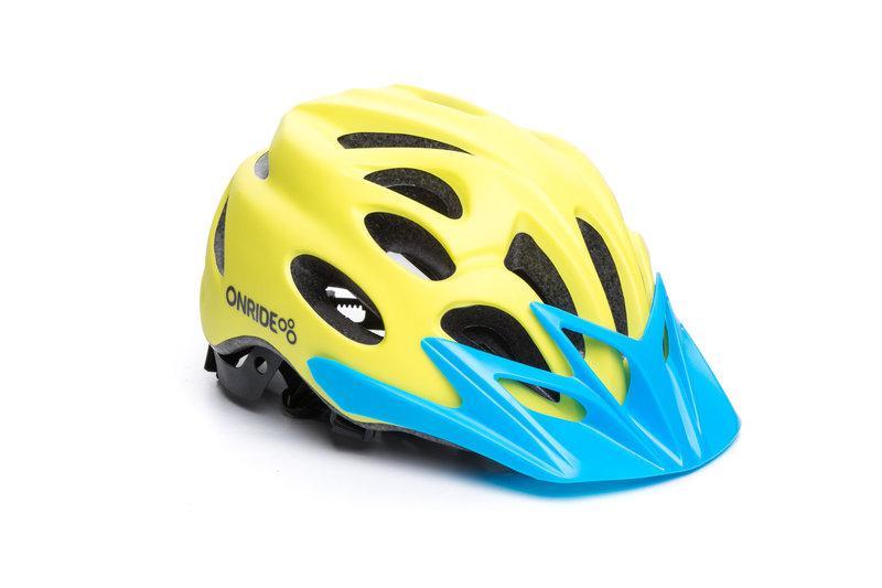 Велошлем Onride Slide yellow L