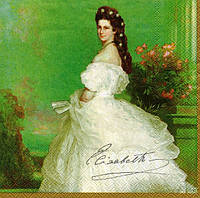 Салфетка для декупажа Принцесса Елизавета, 33см х 33см