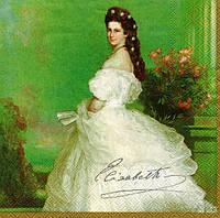 Салфетка для декупажа Принцесса Елизавета 33см х 33см