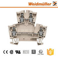 Модульные клеммы Weidmuller WDK 2.5/TR-DU-PE/o TNHE - 1833640000