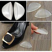 Силіконовівкладки для взуттяпід підйомстопи/ Силиконовые стельки для обуви под подъем стопы (S3)