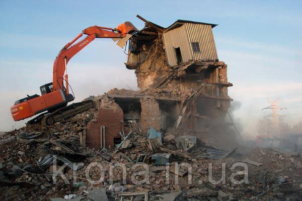 Демонтаж зданий. Удаление деревьев. Покос травы