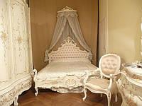 Вся Итальянская спальня кровать трюмо, зеркало, шкаф на 5ти дверей
