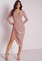 Новое вечернее асимметричное платье Missguided, фото 2