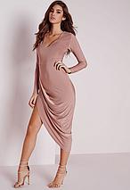 Новое вечернее асимметричное платье Missguided, фото 3