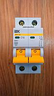 Автоматический выключатель ВА 47-29 2 полюса 16А кривая С