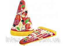 44038 BW Надувной матрас для плавания Пицца,188 х 130 см, фото 3
