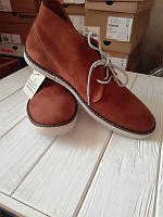 Кожаные ботинки levi's оригинал 42 размер 9 us! куплены в США!
