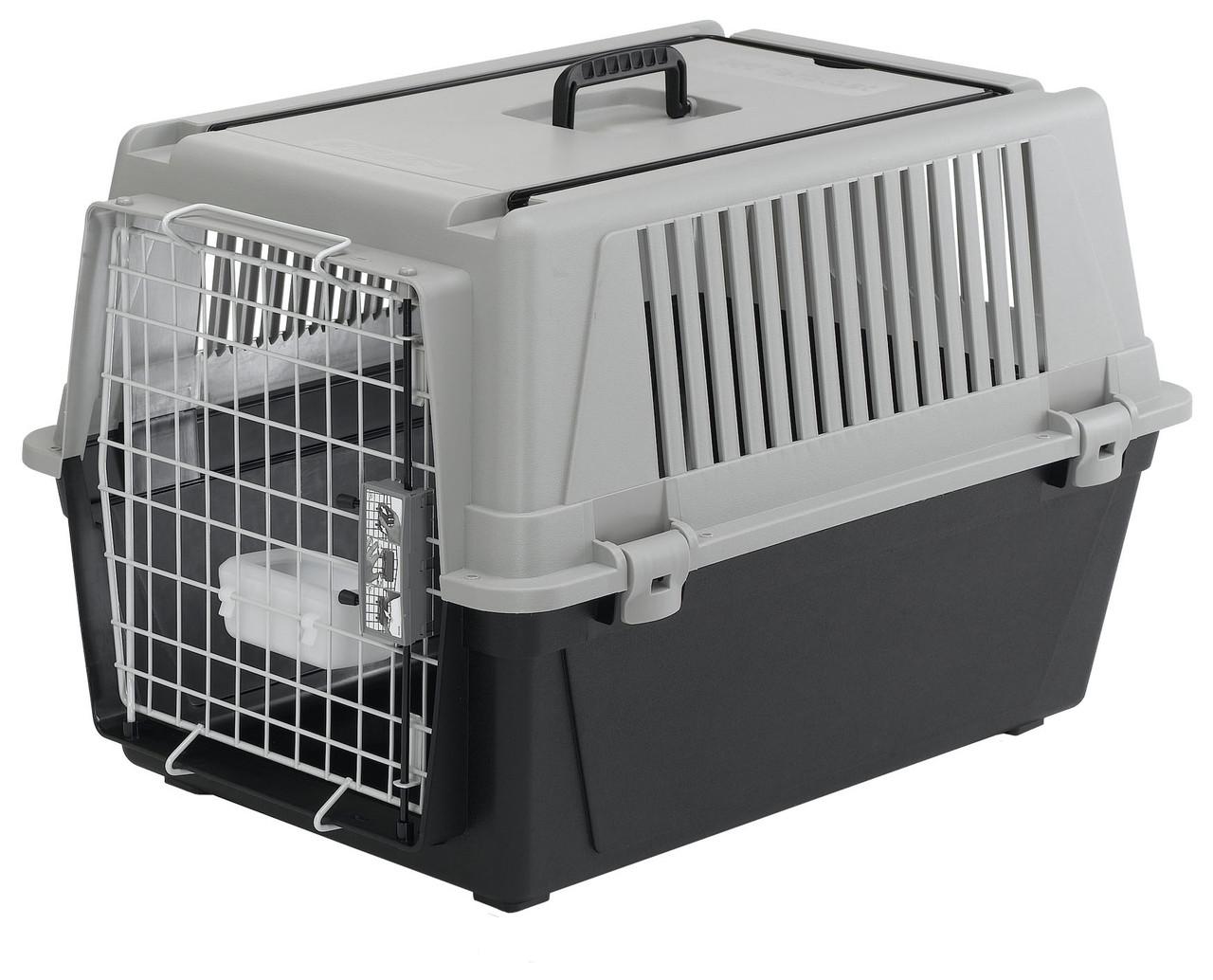 Переноска для мелких и средних собак, крупных пород кошек Ferplast  CARRIER ATLAS 40 GREY PROFESSIONAL