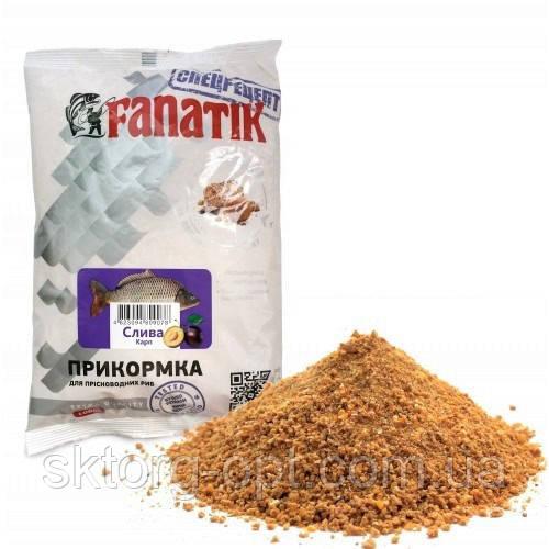 Прикормка FANATIK Слива Карп 1 кг