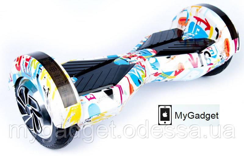 "Гироскутер / Гироборд Smart Balance EL3 - 8"" Граффити + Сумка"