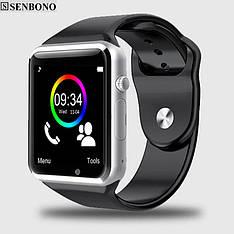 Розумні смарт годинник Senbono A1 Black