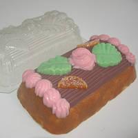 Пластиковая форма торт сказка