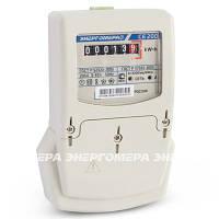 Однофазный счетчик учета электроэнергии энергомера се 200 s6 145 m6, на щиток, двухэлементный, с защитой