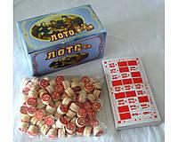 Набор для игры в лото в картонной коробке