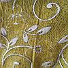 Мебельная ткань гобелен перетяжка мягкой мебели стульев ширина 150 см сублимация 2024 зеленый