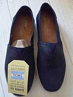 Продам новые мужские макасины toms оригинал 100% из англии! zara h&m, фото 1
