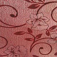 Мебельная ткань гобелен перетяжка мягкой мебели стульев ширина 150 см сублимация 2023 бордо