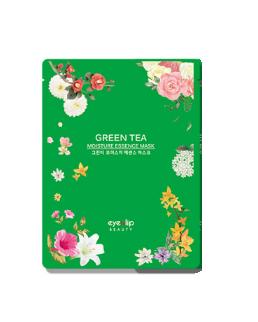 Тканевая маска с экстрактом зеленого чая Eyenlip Green Tea Moisture Essence Mask