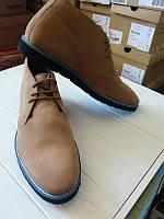 Новые мужские кожаные ботинки дезерты dune, фото 1