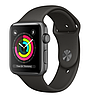 Apple Watch Series 3 42mm Space Gray Aluminum Case with Gray Sport Band  (MR362)