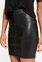 Короткая юбка под кожу Missguided, фото 3