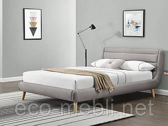 Ліжко Elanda 140 light grey