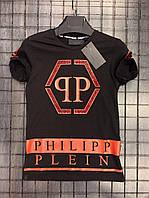 Футболка мужская Philipp Plein D3258 черная
