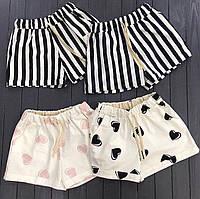 Короткие коттоновые шорты (5 расцветок), фото 1