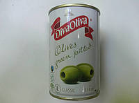 Оливки зелені без кісточки 300г DIVA OLIVA (1/12)