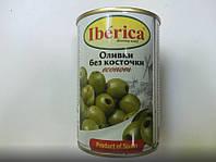 """Оливки зелені без кісточки 280г """"econom"""" Iberika (1/12)"""
