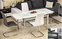 Скляний стіл gd-020 (білий), фото 1