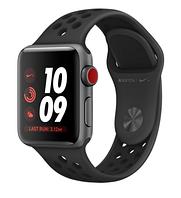 Apple Watch Nike+ Series 3 (GPS + Cellular) 38mm Space Gray Aluminum w. Anthracite/BlackSport B. (MQM82)