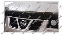 Дефлектор капота, мухобойка Nissan X-Trail #174471