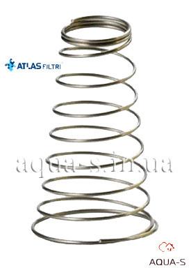 Пружина для картриджей Atlas Filtri HYDRA из нержавеющей стали (AISI 316) RE7120040