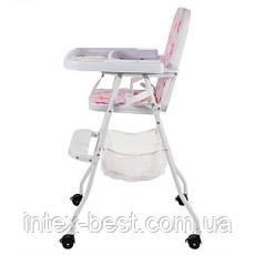 Детский стульчик для кормления Bambi (M 0398-1) с корзиной , фото 2