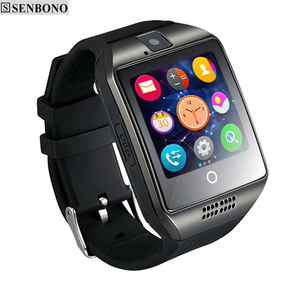 Розумні смарт годинник SENBONO SBN-Q18 Black