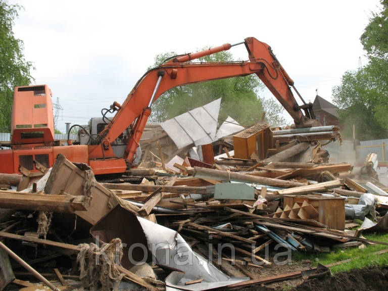 Демонтаж всех видов. Уборка территории. Вывоз мусора