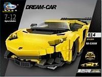 Конструктор сборная модель машины, 814 деталей