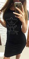 Платье женское с камнями Турция  мил250