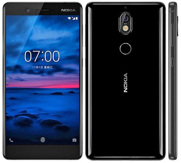 Смартфон Nokia 7 Dual SIM Black 6/64gb Qualcomm Snapdragon 630 3000 мАч