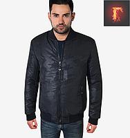 Мужская куртка осенняя - 298 темно-синий