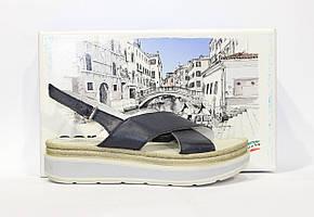 Шикарные кожаные босоножки Aeros, Италия-Оригинал