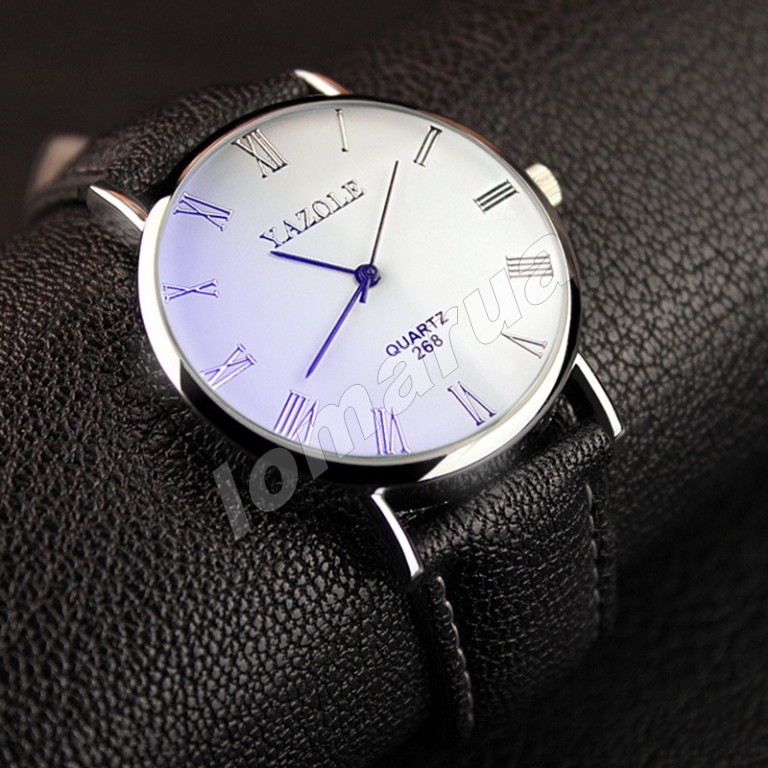 Мужские кварцевые часы Yazole 268, цена 105 грн., купить — Prom.ua ... b1ad99d6fd1