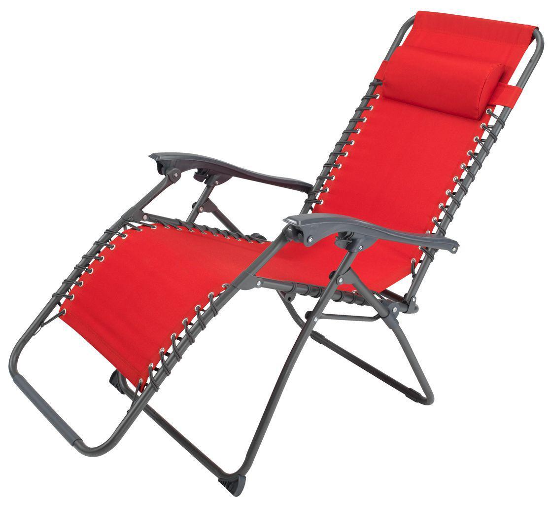 Кресло для отдыха красный