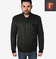 Мужская куртка весна-осень - 301 черный