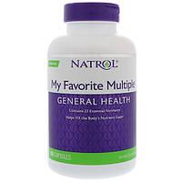 Натуральные витамины My Favorite Multiple 180 капс Natrol