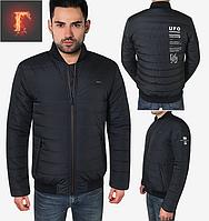 Осенняя куртка мужская - 1727 темно-синий