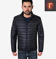 Осенняя модная куртка - 308 темно-синий
